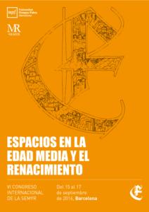 Cartel VI Congreso Internacional de La SEMYR